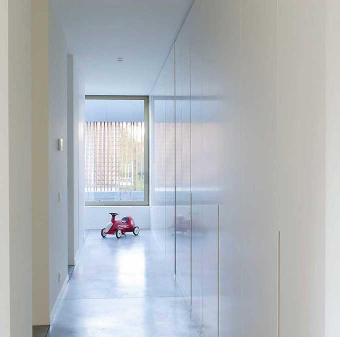 Project Kortrijk | Strak | IN'T WIT - PLEISTERWERKEN | VLAANDEREN
