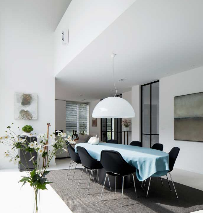 Project Sint-Martens-Latem | Strak | IN'T WIT - PLEISTERWERKEN | VLAANDEREN