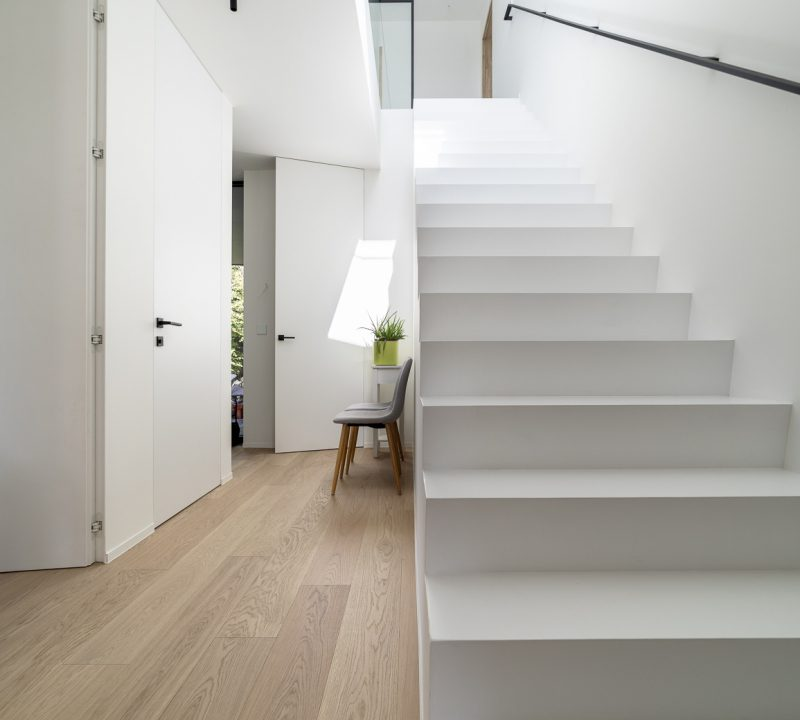 Project Sint-Martens-Leerne | Strak | IN'T WIT - PLEISTERWERKEN | VLAANDEREN